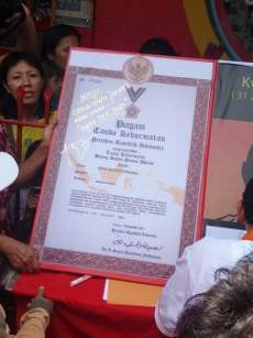 Foke Janjikan Pendirian China Town \Kwee Tek Hoay\ di Jakarta
