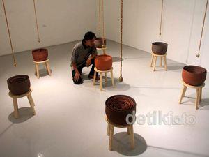 Menikmati Seni Instalasi Karya Albert Yonathan