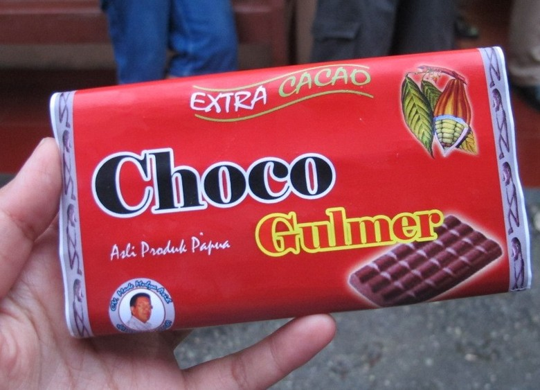Cokelat khas Papua yang bisa dibeli di Kota Jayapura (Sastri/ detikTravel)