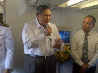 Tiba di New York, Presiden SBY Disambut Agenda yang Padat