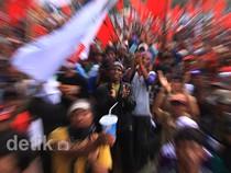 Aksi Petani di Depan Istana Berlangsung Tertib