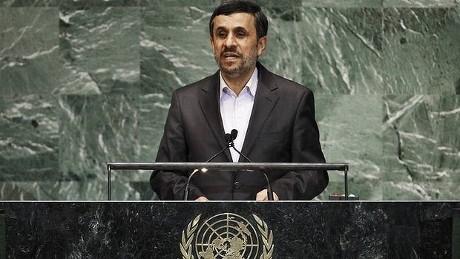 Ahmadinejad Sebut Israel Akan Lenyap