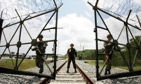 Korean Demilitarized Zone (guardian.co.uk)
