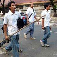 5 Pelajar Tewas dalam Tawuran Sepanjang Januari-September 2012
