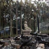 Cegah Pembakaran Meluas, Kuil Buddha Dijaga Militer Bangladesh