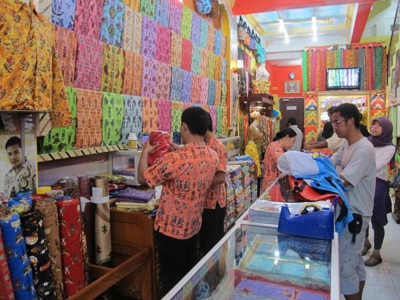 Batik Papua khas Sorong (Afif/detikTravel)
