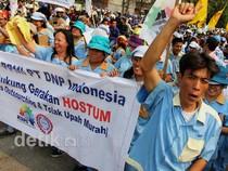 Buruh Jakarta Juga Turun ke Jalan