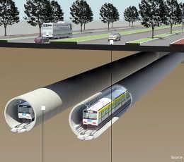 Hutama Karya Siap Garap Terowongan Bawah Tanah MRT Jakarta