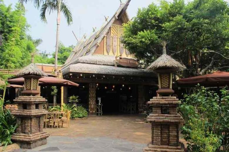 Tahitian Terrace, restoran halal di Hong Kong Disneyland (Merry/detikTravel)