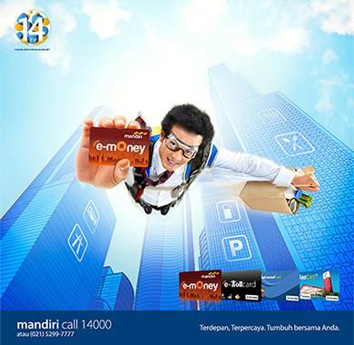 Mandiri e-money \Kartu Super\ Untuk Kemudahan Transaksi Anda