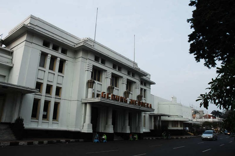Gedung Merdeka, tempat Konferensi Asia-Afrika (Avitia/detikTravel)