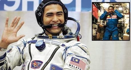 Astronot Malaysia Salat di Luar Angkasa, Kisahnya Kini Difilmkan