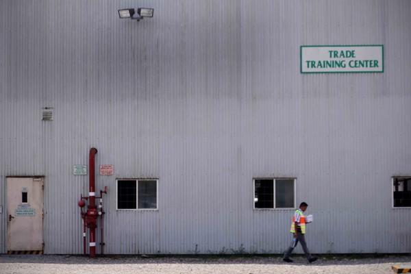 Area pelatihan di Institut Pertambangan Nemangkawi