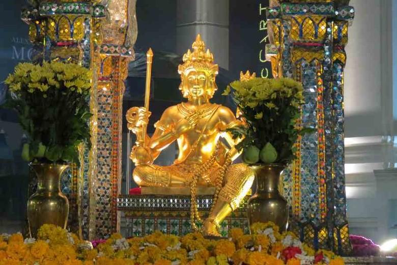 Four Faces Buddha yang unik di Bangkok (Fitraya/detikTravel)