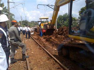 Bos KAI: Sore Ini Satu Jalur KRL Bogor-Bojonggede Bisa Dilalui