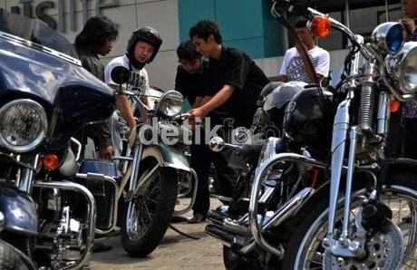 Harley Mau Bikin Motor Kecil