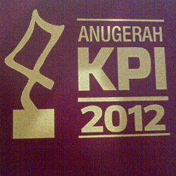 Daftar Lengkap Pemenang \Anugerah KPI\ 2012