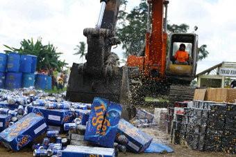 Barang Impor Ilegal Senilai Rp 358 Juta Dimusnahkan di Riau