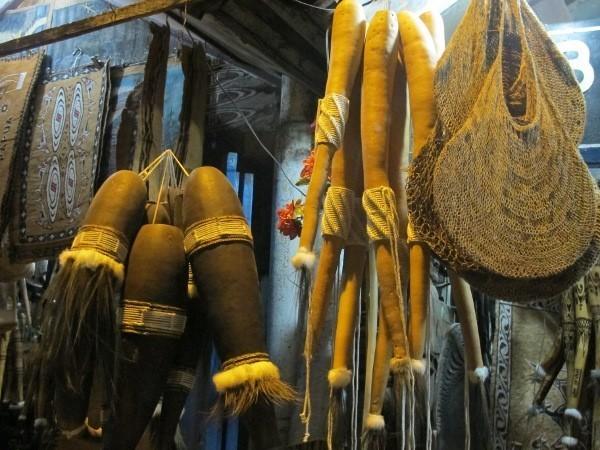 Koteka yang dijual di Papua (Sastri/detikTravel)