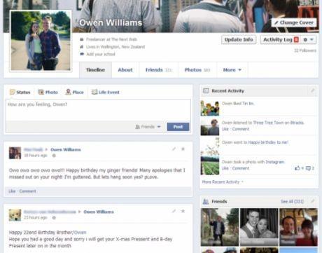 Redesain Facebook (Ist.)