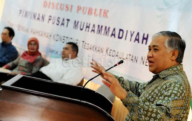 Din: Politik Muhammadiyah Adalah Politik Moral