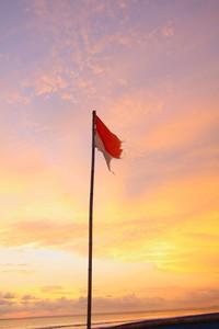 Sang Merah Putih berkibar di langit Pangandaran