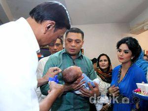 Wiranto Hadiri Akikah Putra Kedua KD-Raul