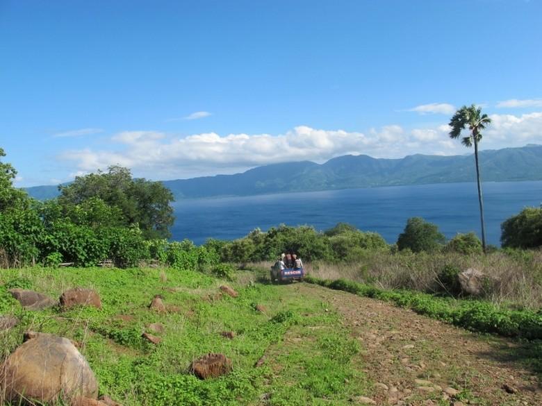 Panorama salah satu sudut Pulau Lembata (Sastri/ detikTravel)