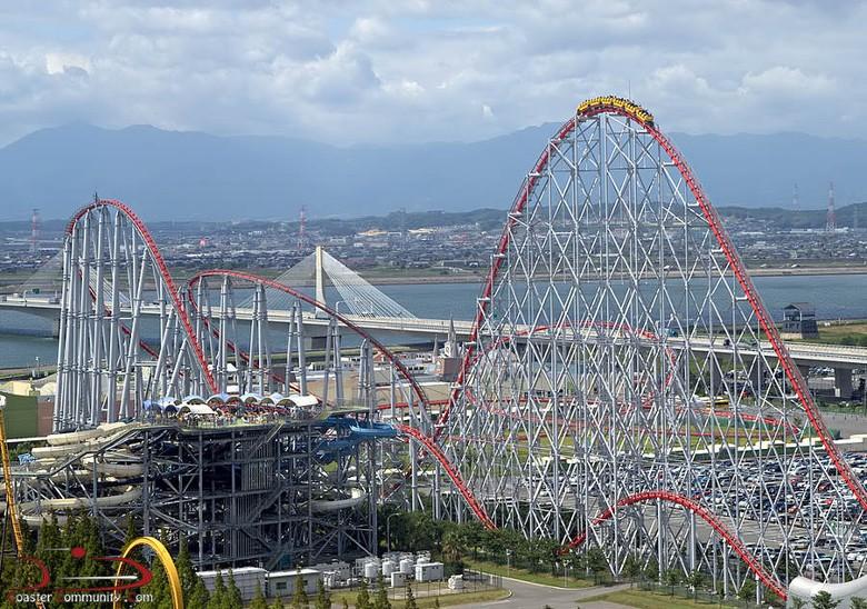 Ini dia roller coaster terpanjang di dunia (coastercommunity.com)