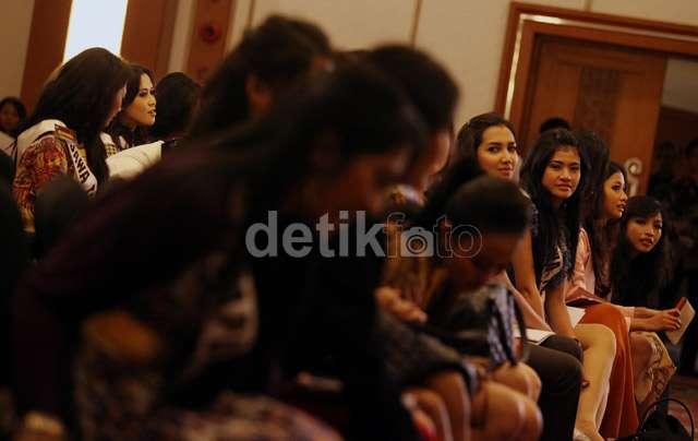 Finalis Puteri Indonesia Belajar Bahaya Narkoba