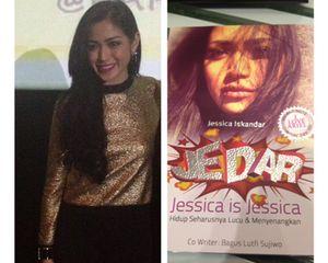 Jedar, Buku Pertama Jessica Iskandar yang Diambil dari Diary