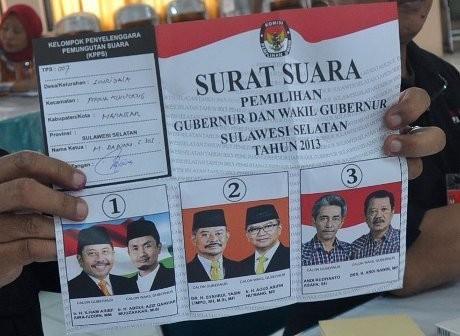 Kubu Ilham-Aziz Gugat Hasil Pilkada Sulsel ke MK