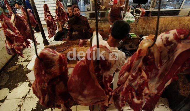 Impor Daging Sapi Tahun 2012 Terendah Dalam 5 Tahun Terakhir