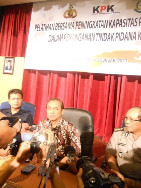 KPK Pantau Penanganan Dugaan Korupsi Wali Kota Medan Rahudman Harahap