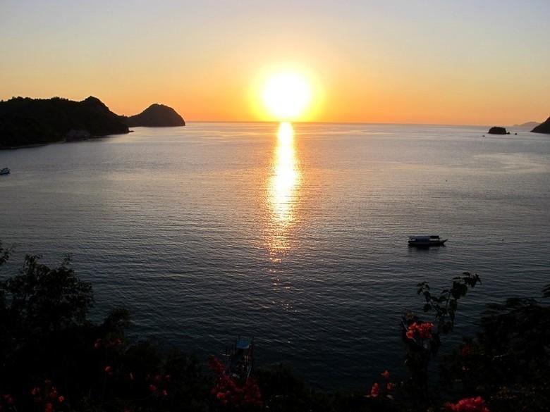 Senja manis di Labuan Bajo (Shafa/detikTravel)