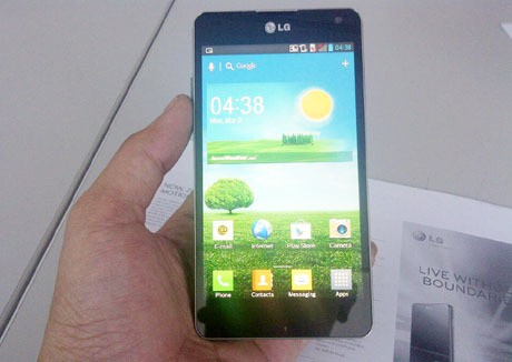 LG Optimus G (fyk/detikINET)