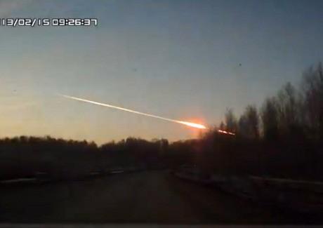 Lapan: Meteor yang Jatuh di Rusia Tergolong Benda Langit Kecil