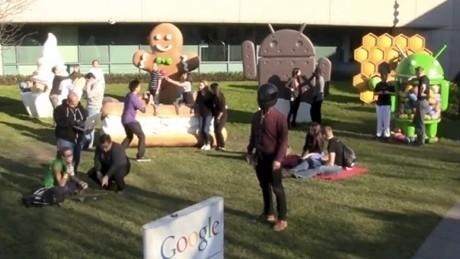 Harlem Shake ala Google