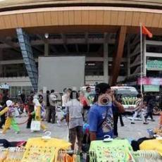 Tagih Pembayaran, Subkontraktor Segel Stadion Utama Pekanbaru