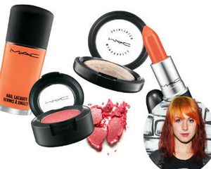 Hayley \Paramore\ Williams Rilis Make-up Bersama MAC