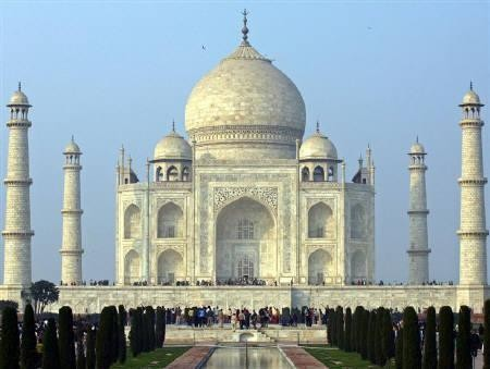 Taj Mahal di India (Reuters)