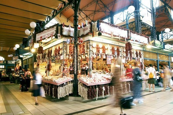 Great Market Hall, Budapest, Hungaria (CNN Travel)