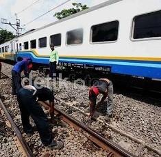 Jalur KA Bandung-Jakarta Sudah Bisa Dilewati