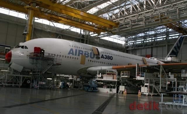 Airbus Mulai Bangun Pabrik di Kandang Boeing