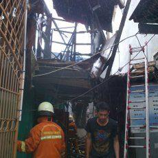 Kebakaran di Tambora Padam, 13 Rumah Habis Terbakar