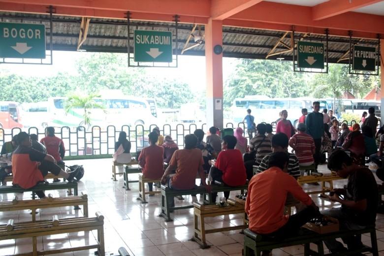 Terminal Kampung Rambutan (Afif/detikTravel)