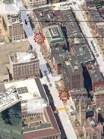 Ini Gambaran Situasi Ledakan Bom di Maraton Boston