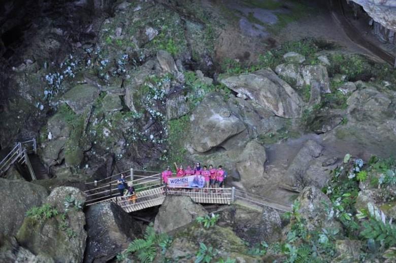 Bagian dalam Clearwater Cave (dok. Caldera)