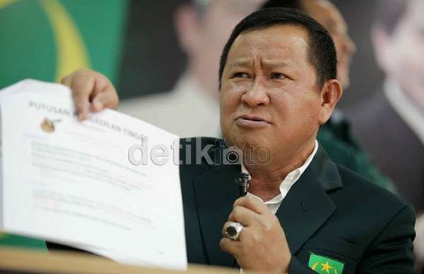 Susno Duadji Masuk Daftar Caleg PBB