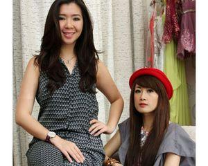 Cecilia Yuda & Lisa Daryono, 2 Desainer Muda di Balik Gaun Indah Benten